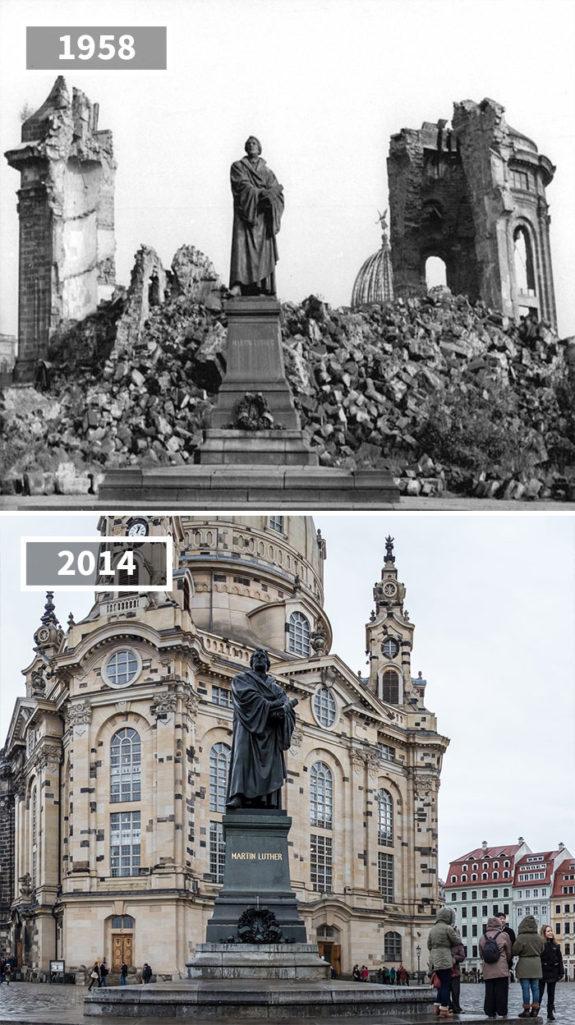 時間會改變一切!30張歐洲各地「過去VS現在」比對照