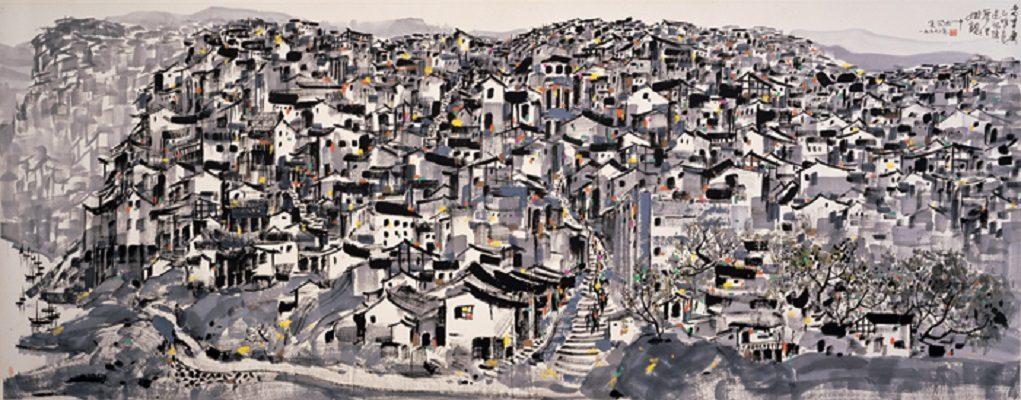 73歲老翁用泡沫塑料「把整個重慶市雕出來」,超精細「133條街道+30個碼頭+32個地標」完美重現!