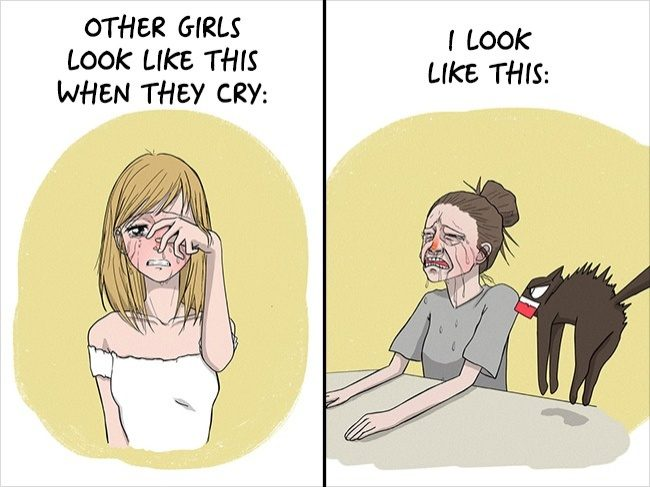 15張「女生看到後會認同到哭」女生日常小煩惱漫畫 全看懂的男友絕對是真愛!