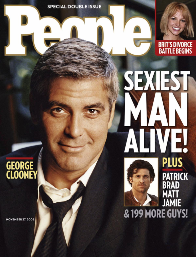 被他看一眼就會懷孕!15年來被《時人》雜誌選為「地表最性感男人」的好萊塢男星。