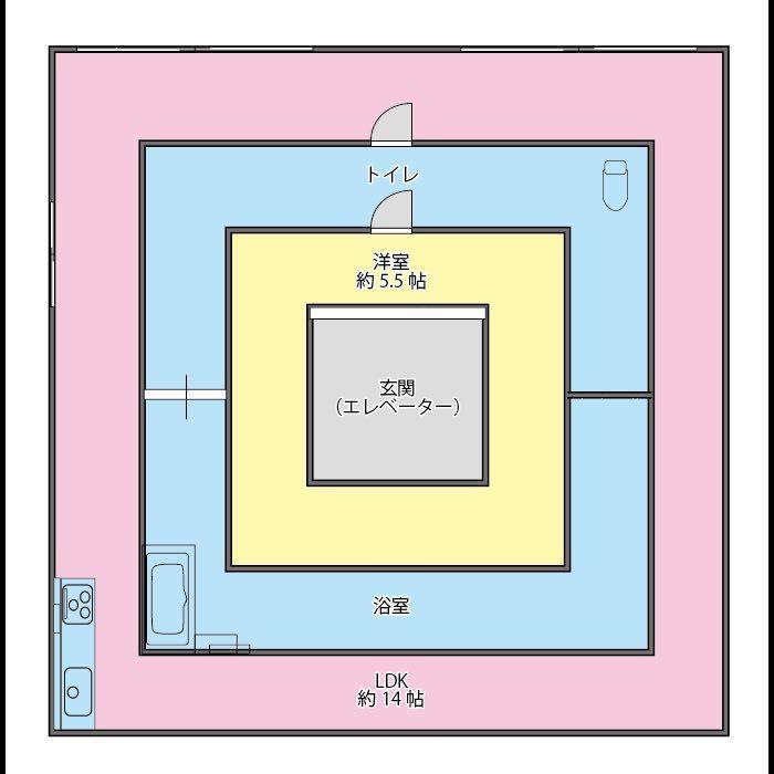 日本人為什麼都不喜歡回家?!能省則省「超奇特小坪數公寓格局」嚇到你大開眼界!(12張)