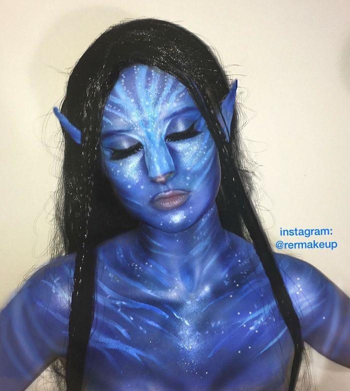 正妹化妝師花50小時只用瑜珈墊+膠帶「DIY神力女超人戰袍」!全身照成品令人驚艷!