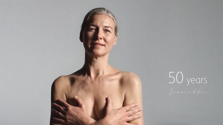 打破迷思!他們找來100位「0到100歲的女性」全裸拍攝:讓你知道身體的真相