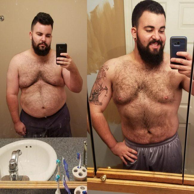 24張勵志度爆表「肥宅變肌肉天菜」對比圖,他們每人分享自己減肥秘訣!(誤)