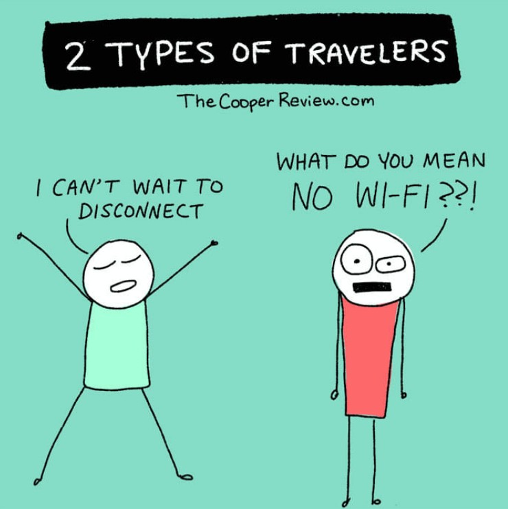 10張圖告訴你「背包客」和「觀光客」的不同!觀光客到底為什麼出國啊?