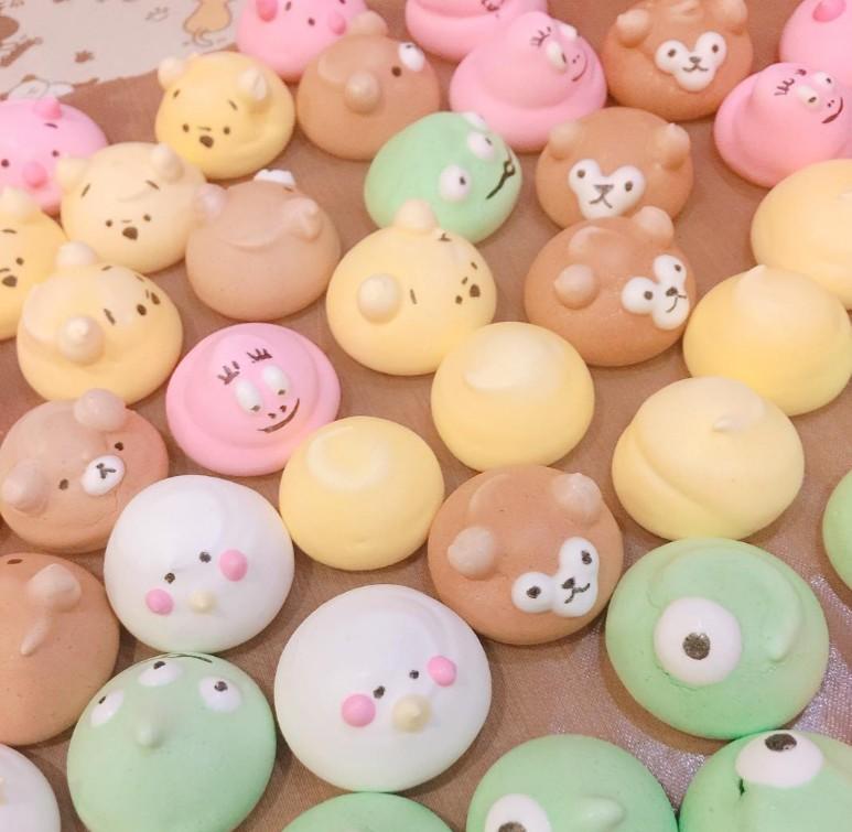 甜點控注意!台灣女孩手作「超萌卡通造型馬林糖」!超Q圓滾滾龍貓完全捨不得吃!(12張)