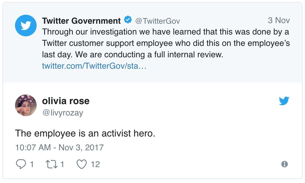 川普「推特帳號被關」終於無法嘴砲!原來是推特員工離職前的孤注一擲!網友:他是真英雄!
