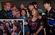 老媽陪追BTS《防彈少年團》突失蹤,接通視訊瞬間「見偶像和媽極樂攝影棚」女兒淚灑街上!