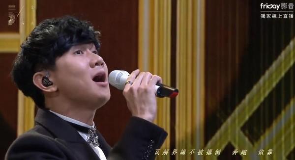林俊傑金馬獎「連飆3經典歌曲」,行走CD一開口「台下觀眾秒泛淚」真假音轉換讓酸民閉嘴!(影片)