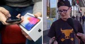 街頭大實驗:「拿iPhone 4假裝iPhone X」問使用心得,路人回答透露「行銷騙局」!