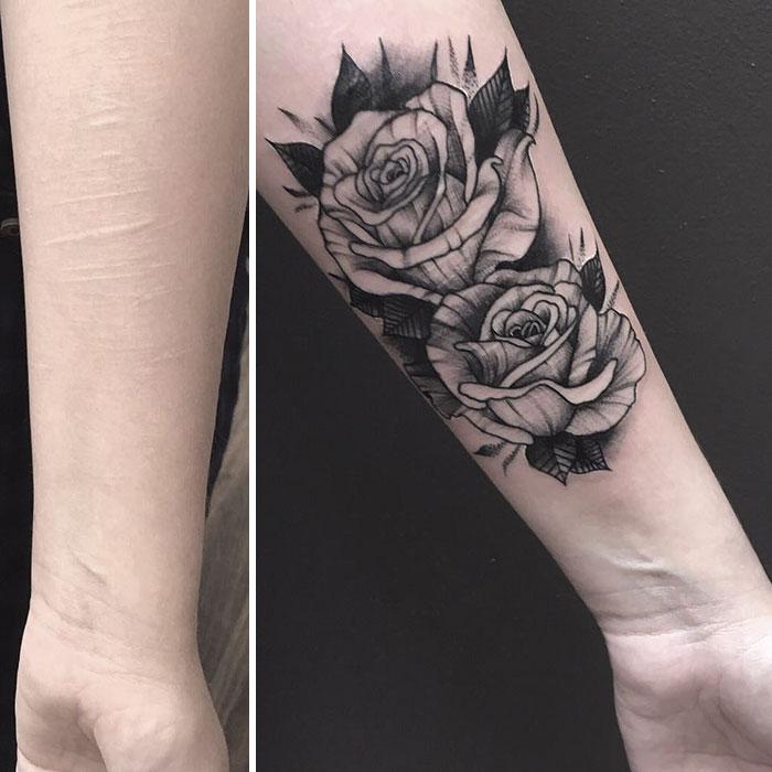 19歲女孩想用刺青「掩蓋黑暗過去」 被所有刺青師拒絕卻有一位決定「免費答應她」