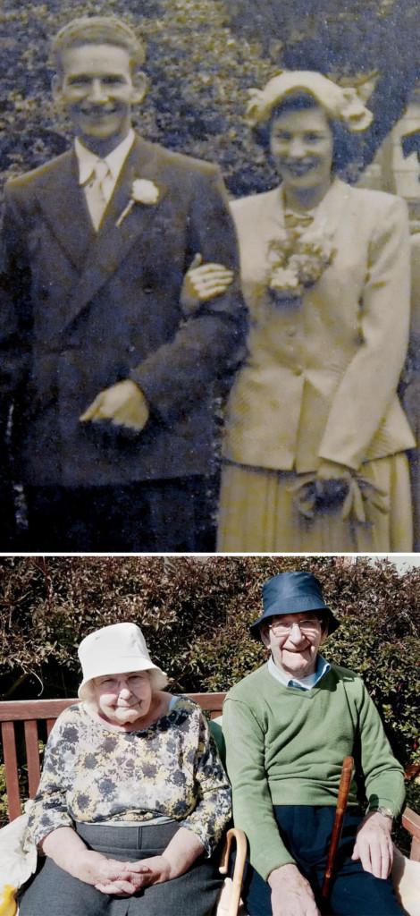 30張讓人相信「真愛絕對永遠存在」的老夫老妻對比照,最後一張「從蛋就開始的緣分」更令人動容!