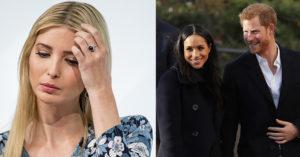 川普女兒伊凡卡祝福哈利王子大婚,卻遭網友「發現陰謀」狂酸