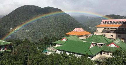 紅到國外!台灣彩虹持續9小時打破「世界最持久紀錄」,「外媒大篇幅報導」讚爆!