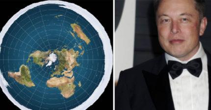 伊隆馬斯克問「為什麼沒有火星平說?」打臉地平說,地平說學會「上當秒回」馬上自打臉!