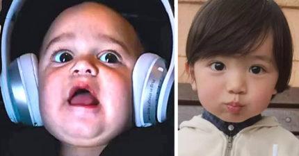 「頭大」其實是優勢!科學研究:「大頭寶寶」在媽媽肚子就勝過普通人