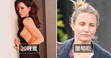 有無保養40歲見真章!好萊塢10位「視覺年齡20幾歲」+ 10位「看起來像葡萄乾」明星