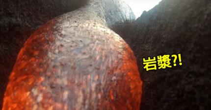 超盡責GoPro被「岩漿吞沒」後,居然存活把整個精采過程捕捉下來!(影片)