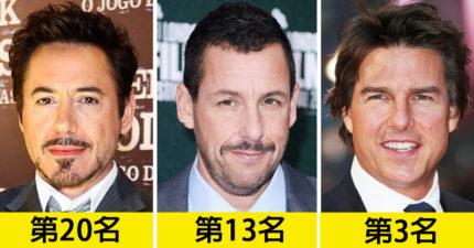 20位好萊塢明星「身家排行榜」大公開 阿湯哥才排行第3!