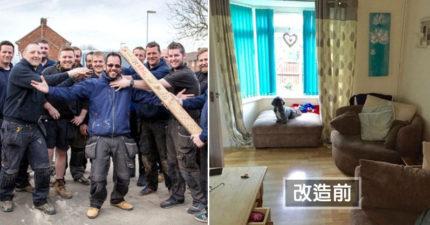 超暖老闆找來50人為癌末員工改造房子,還籌了232萬為他把房子買下來「改造前後差別超暖」!