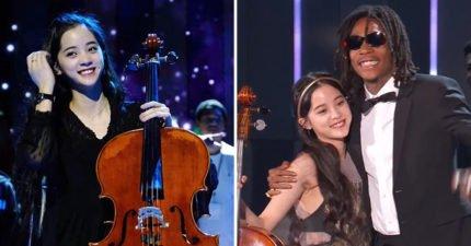 亞洲首位受邀藝人!歐陽娜娜出席「NASA頒獎典禮」展現大提琴實力,與威茲哈利法合作〈See You Again〉全場驚艷!