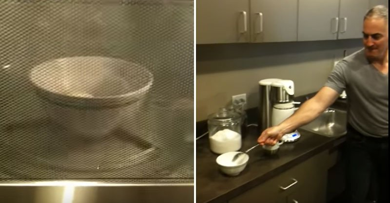 這就是為什麼你絕對不該微波水煮蛋...拿湯匙一碰...