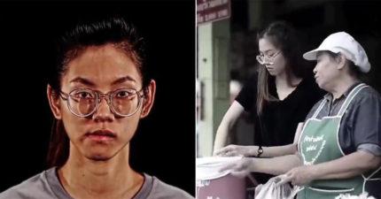 泰國女「天生臉外嘴斜」從小被笑到大!參加整形節目搖身一變成「超甜美混血女神」全場驚呆!