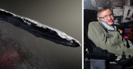 霍金正在研究「巨大雪茄形不明天體」是不是外星飛船,他:是外星人母艦派出的