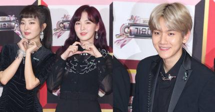 韓國SM娛樂旗下藝人為了紀念鐘鉉,年底活動一致在衣服繫上「特別記號」...