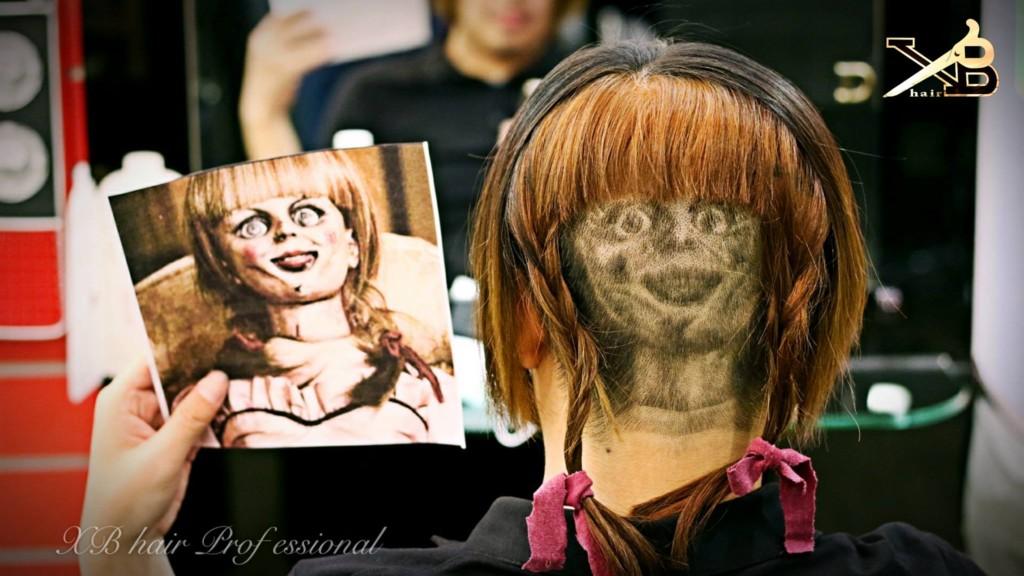 台灣髮型師「超神頭雕技術」紅到國外,後腦變出「川普頭像」回頭率100%!