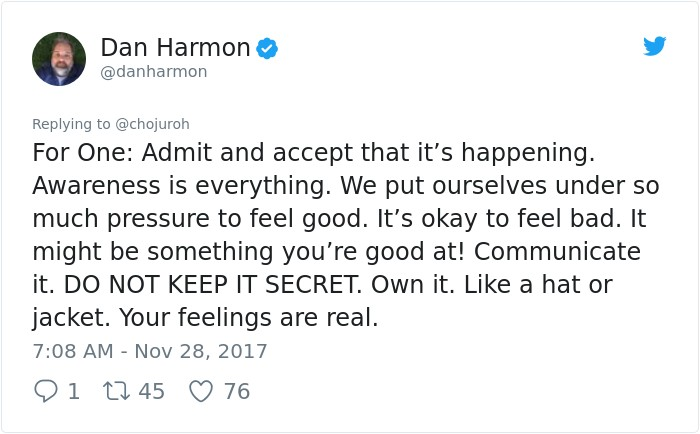 她求「同樣陷憂鬱症深淵」名電視劇編劇給建議,他:「雖然感受是真實的...」意外感動更多網友