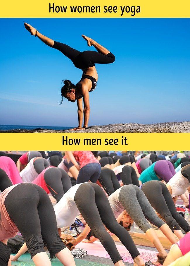 16張證明「男生跟女生來自不同星球」爆笑對比圖。