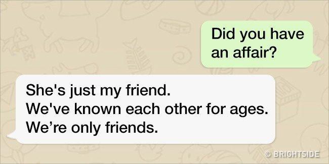 11種教你戳破對方「心裡有鬼」的常用簡訊謊言話術,你會發現每一種都很熟悉…