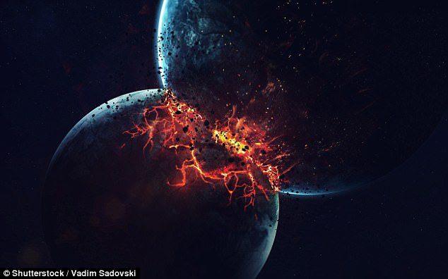 月亮看起來怪怪的...網友質疑各國元首意圖在空中「噴灑化學物質」遮蓋末日「尼比魯星」,NASA出面證實…