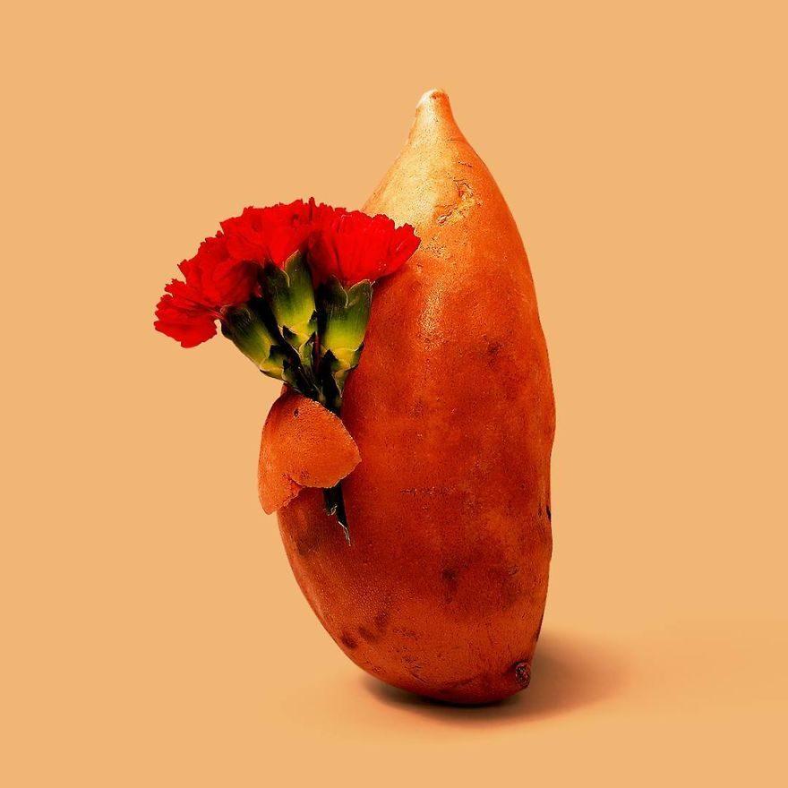 設計師把2個日常小物結合成「突破視覺極限創意照」!「綿羊+花椰菜」讓人腦袋轉不過來!(30幾張)