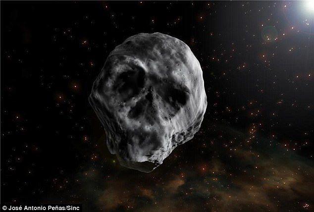 恐怖!曾於2015年萬聖節來襲地球「骷髏頭小行星」明年又來了!網:會引發大災難!