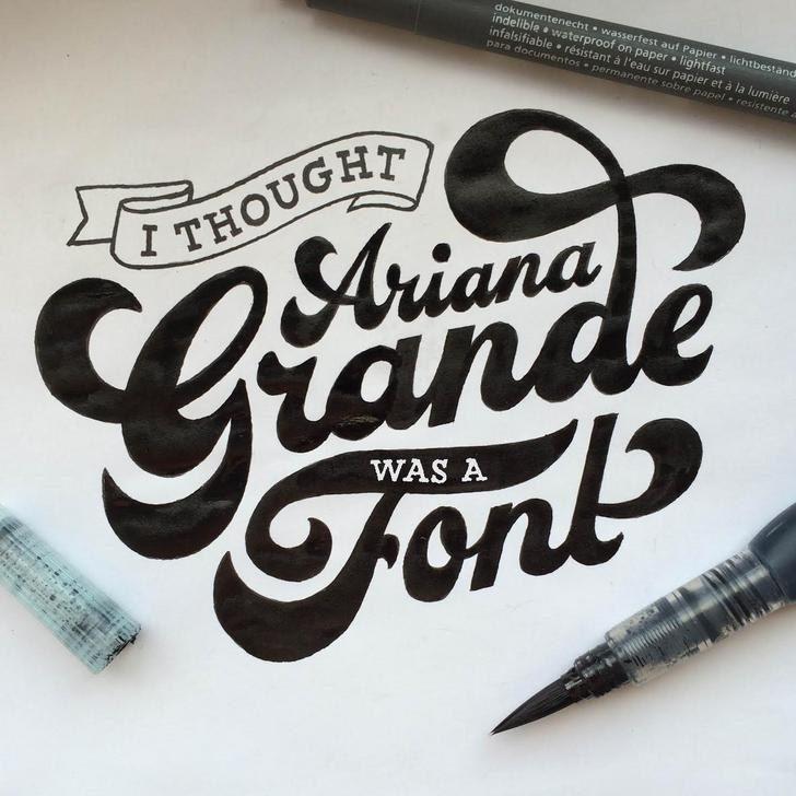 18個比電腦打出來的字更美「能讓幹話變成藝術」光看就覺得療癒的超美手寫字