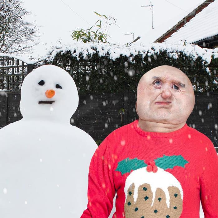 天才老爸把兒子塗鴉PS成「3D立體現實照」!「川普的臉」會讓你連做3天惡夢!(30張)
