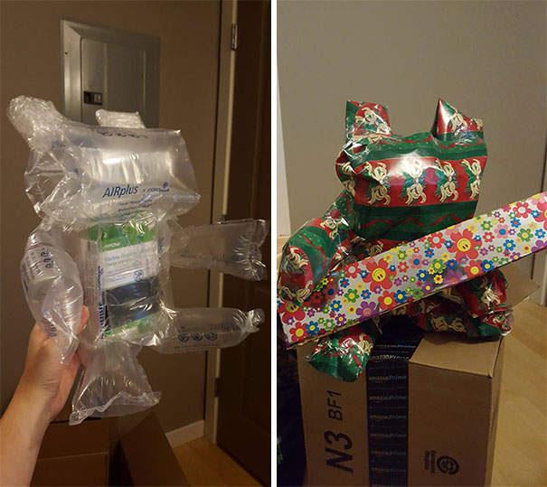 32個「包裝比本體還有梗」的超爆笑禮物 網笑到嘿估:真的不知該哭還是笑...