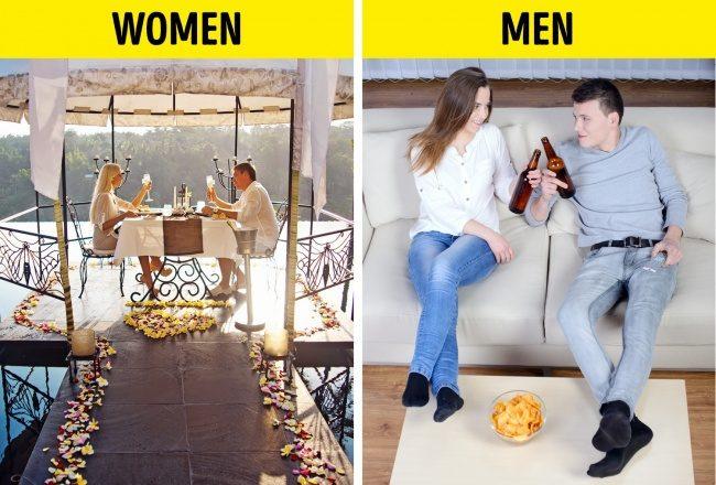 14張證明男生女生根本不同生物的「男女日常差異爆笑比對圖」