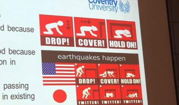 氣象專家一張圖揭「各國民眾遇到地震的反應差異」 台灣反應讓全網笑翻:超級中肯!