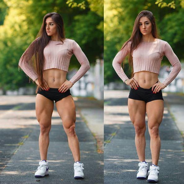 烏克蘭女模「怪物級蜜大腿」連猛男大肌肌都相形失色!臀部夾起來瞬間害網友鼻血亂噴