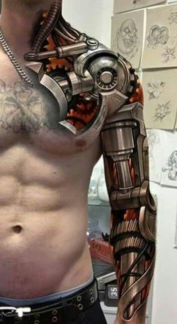 26個真正用到人體所有潛力的「最狂3D刺青」