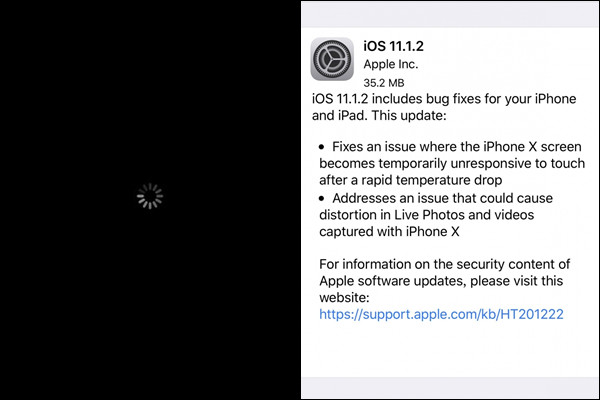 全iPhone使用者傳災情!「無限黑屏轉圈圈」驚傳死機,全球用戶崩潰「別急著iOS更新GG」!