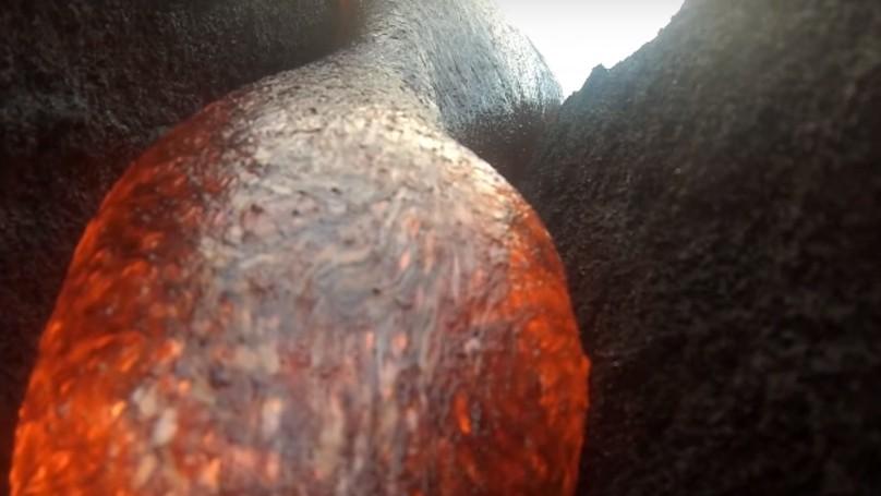 影/GoPro被「岩漿吞沒」後 居然「完全沒壞」記錄整個精采過程!