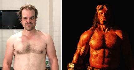 《地獄怪客》男主角胖了一輩子為片變超壯全程曝光!中年啤酒肚大叔變身肌肉硬漢!