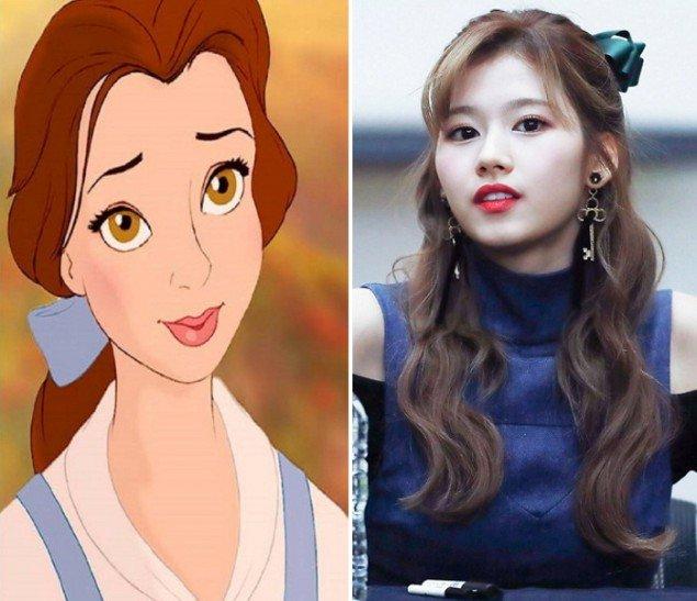 網友點名Sana像「5位迪士尼公主」對比照超驚人,「可愛氣質」宛如從童話般走出!