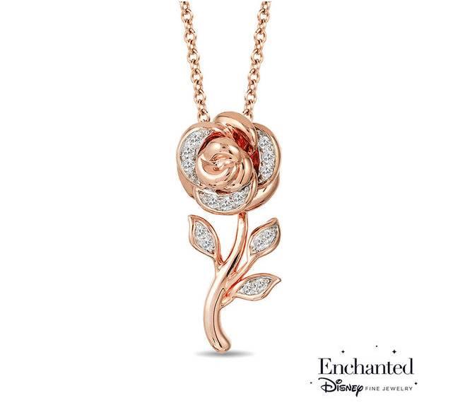珠寶品牌推出「實現女孩迪士尼公主夢」的奢華飾品,快點Tag妳的男友吧!花木蘭中式鑽戒最美!
