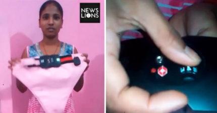 印度少女發明「防強暴神器」即將量產,一鍵搞定「秒逮捕」設計讓性侵犯不寒而慄