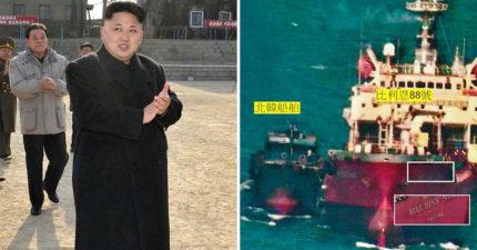 台商「偷賣油給北韓」全被拍!美軍「清晰證據照」曝光,油商稱「是中國人下單」!